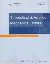Theoretical and Applied Mechanics Letters