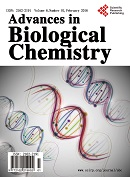 Advances in Biological Chemistry 生物化学研究