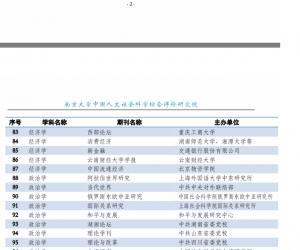 2019-2020年南大核心 3